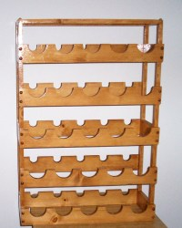 Plans to build 100 Bottle Wine Rack Plans PDF Plans