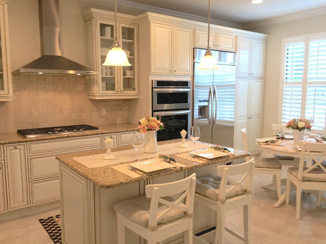 42 inch kitchen cabinets 8 foot ceiling modern knobs video tour and aerial photos del webb orlando