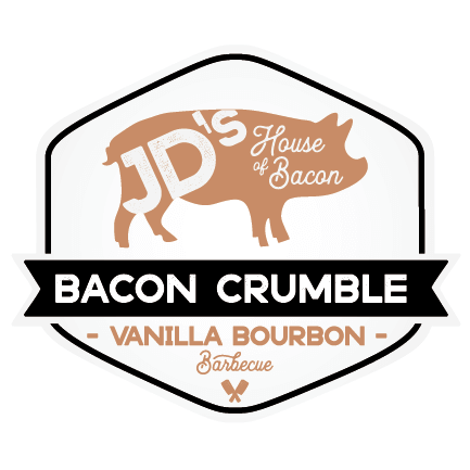 Vanilla Bourbon Barbecue Bacon Crumble