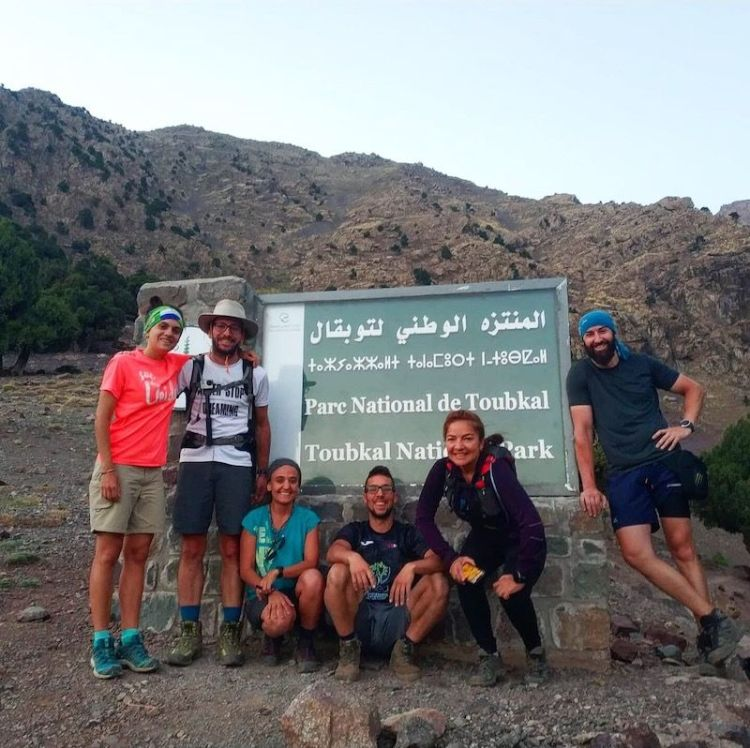 Experiencia en grupo por Marruecos