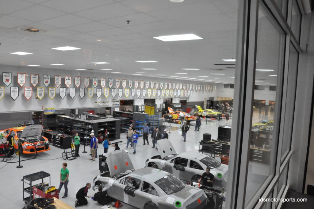 Joe Gibbs Racing Shop Tour