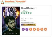contemporary fantasy series Blood Runner, Book 1 - Blood Runner