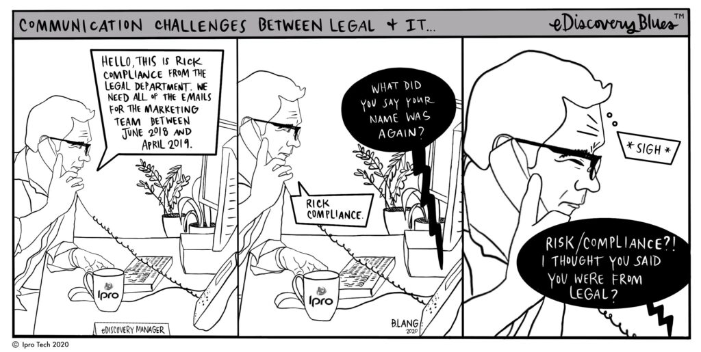 Introducing Ipro's Legal Technology Comic Strip