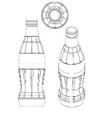 The Coca-Cola Bottle In Europe: No Fluting, No