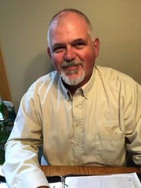Furnace repair and air conditioning technician Steve Quinn.
