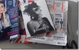 selection de magazine pour faire une planche tendance