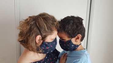Rester stylé avec un masque