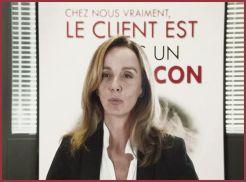 """le client est un """"con"""""""