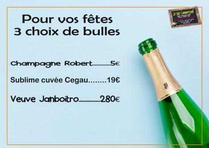 champagne astuce