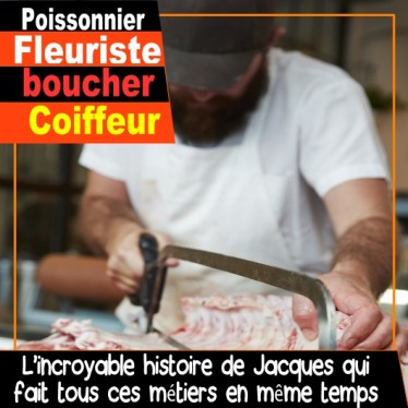 fleuriste coiffeur poissonnier boucher boucher