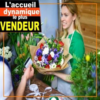 accueil vendeur fleuriste