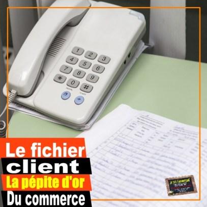 fichier client téléphone