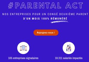 Parité et congés parentaux - Je Tu Elles - congé maternité, paternité, parental - Parental Act