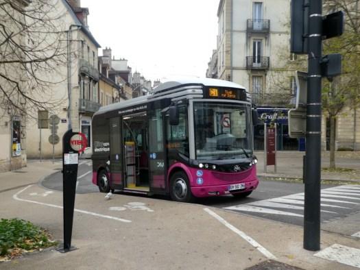 minibus gratuit à Dijon, c 'est la navette gratuite