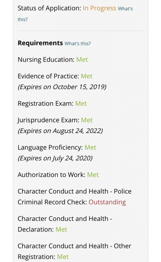 List of outstanding documents CNO dashboard