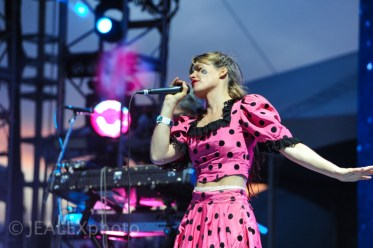 CocoRosie Performs at the Day For Night Festival in Houston, Texas on December 19, 2015.