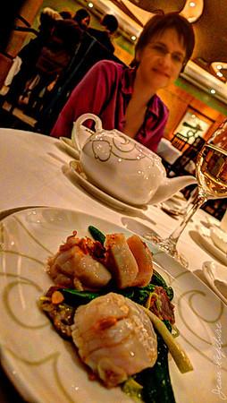Scallops stir-fry from Lai Wah Heen