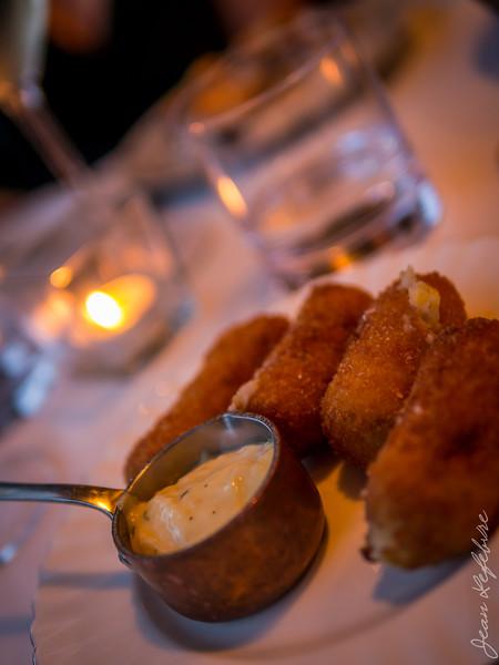 Potatoe Croquettes with Salt Cod Aioli