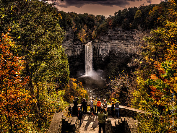 Waterfalls in Finger Lakes New York
