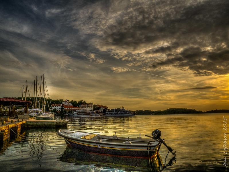 Pomena harbour, Croatia