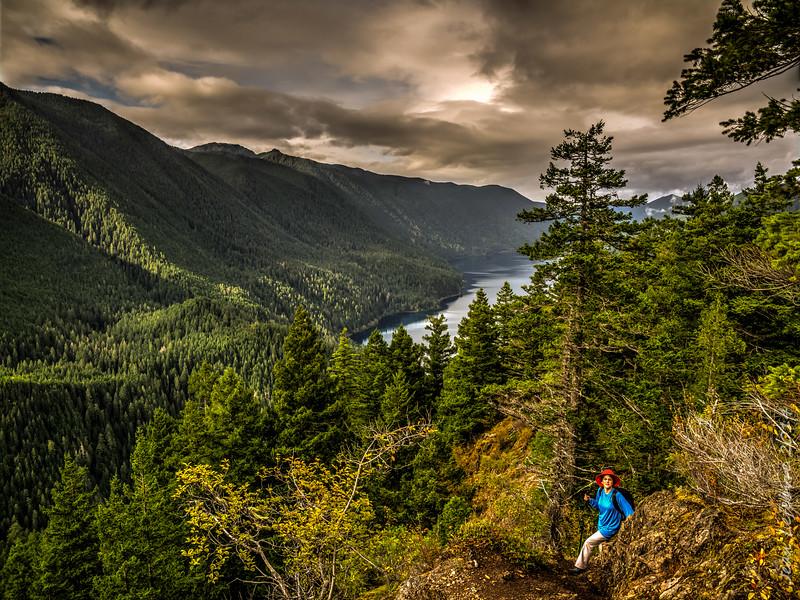 Climbing Mount Storm King
