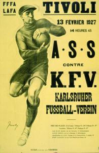 A.S.S. contre K.F.V. Karlsruhe, 13 février 1927, Tivoli, Strasbourg