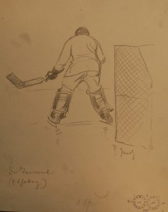 Eishockey Torwärter- - Front