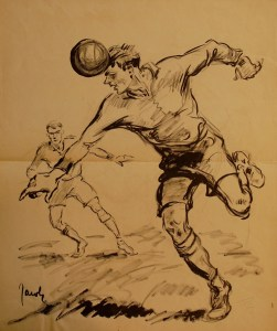Fussball - Front