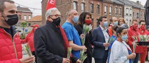 une rose pour la vie clinique andre renard Herstal 1er mai 2021