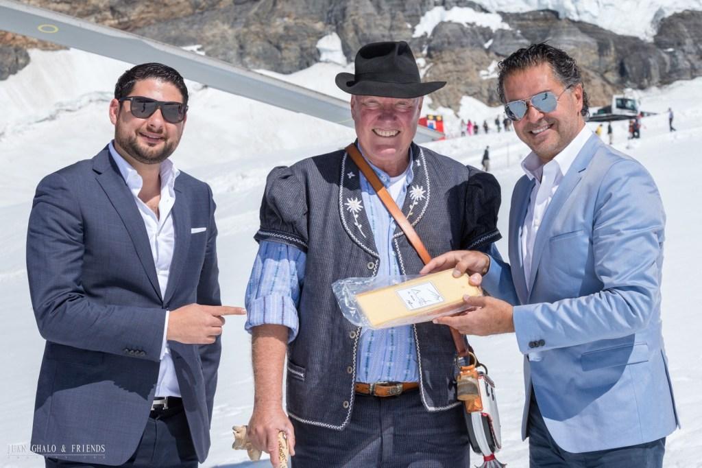 Hublot Ragheb Alama Jungfrau Jean Claude Biver Meeting