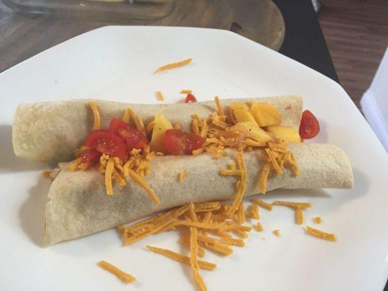 Vegan Slow Cook Chicken Enchiladas