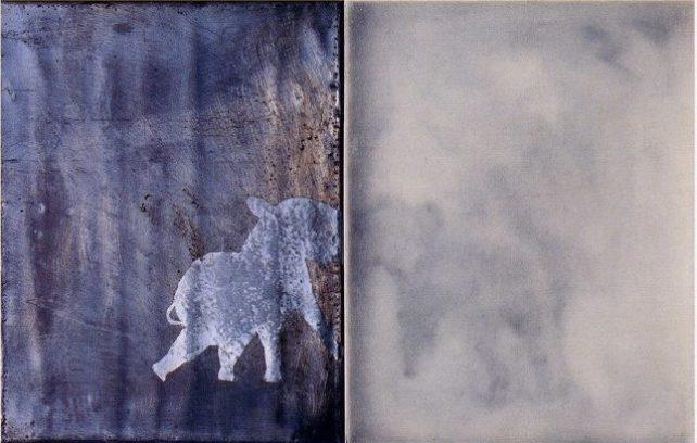 Combat d'éléphants, 1994