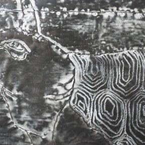Rêve de plomb 04 - Hokusaï (détail), 2011
