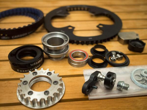 composants transmission courroie
