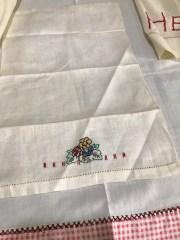 Repurposing Vintage Linens by Jean Brashear