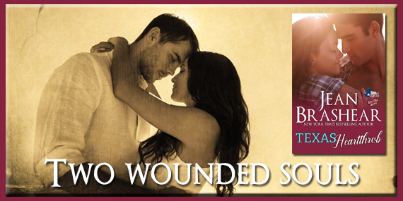 TWO WOUNDED SOULS by Jean Brashear