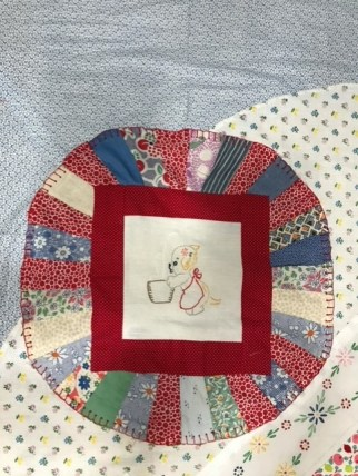 UPDATE: A New Use for Vintage Linens by Jean Brashear