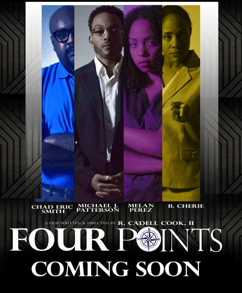 4 Point Movie Poster Design