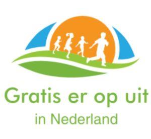 Logo voor de website gratis er op uit in Nederland