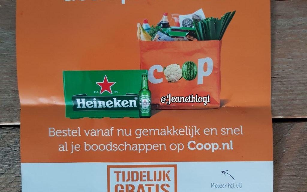Boodschappen thuis laten bezorgen door Coop.