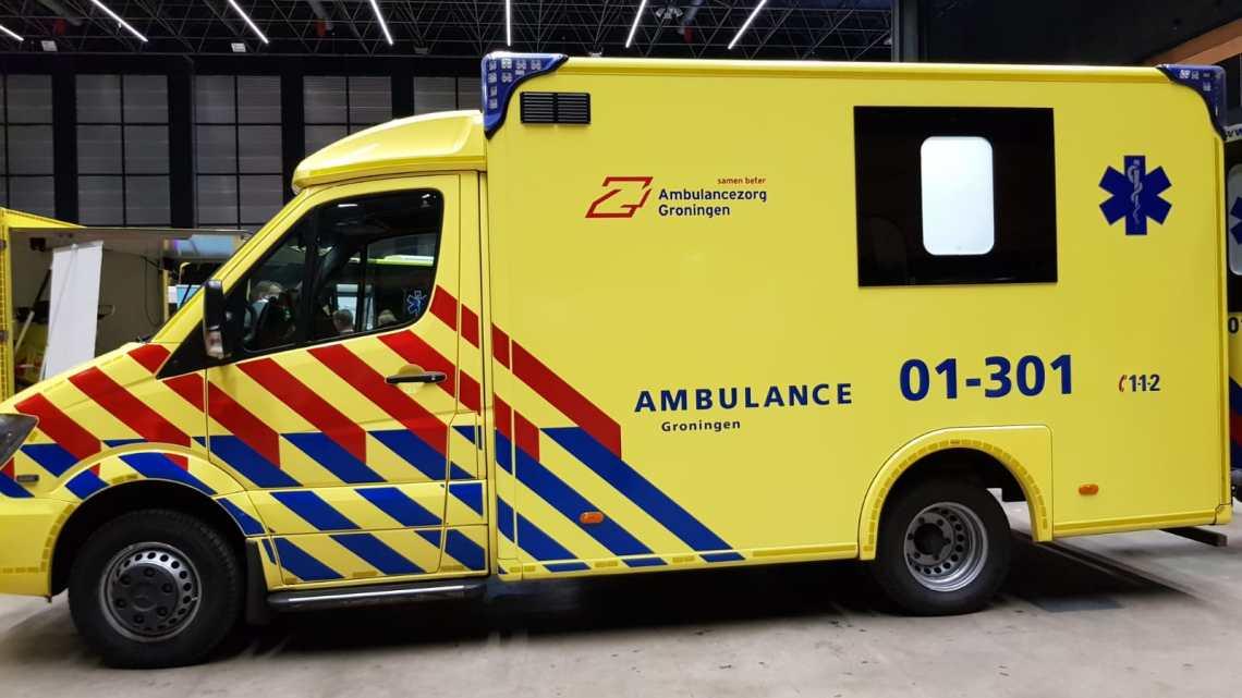 Groot aanbod met de diverse hulpdiensten in Nederland op de 112Groningendag.