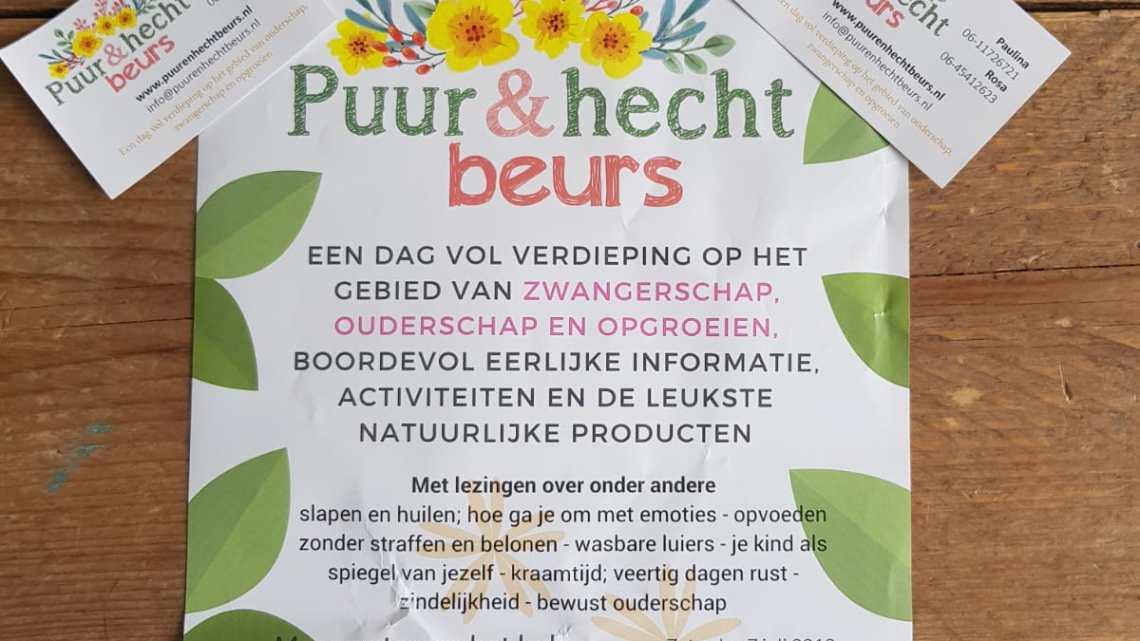 Puur & hecht beurs in Groningen.