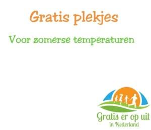 gratis plekjes voor zomerse temperaturen
