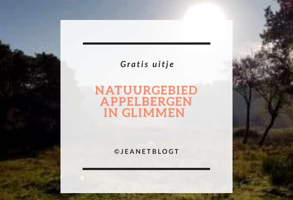 Natuurgebied Appelbergen in Glimmen.