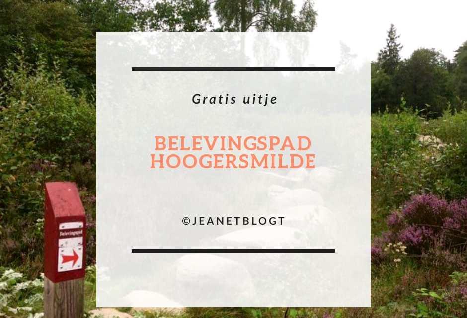 Belevingspad Hoogersmilde in Drenthe. Een beleving in de natuur voor jong en oud.