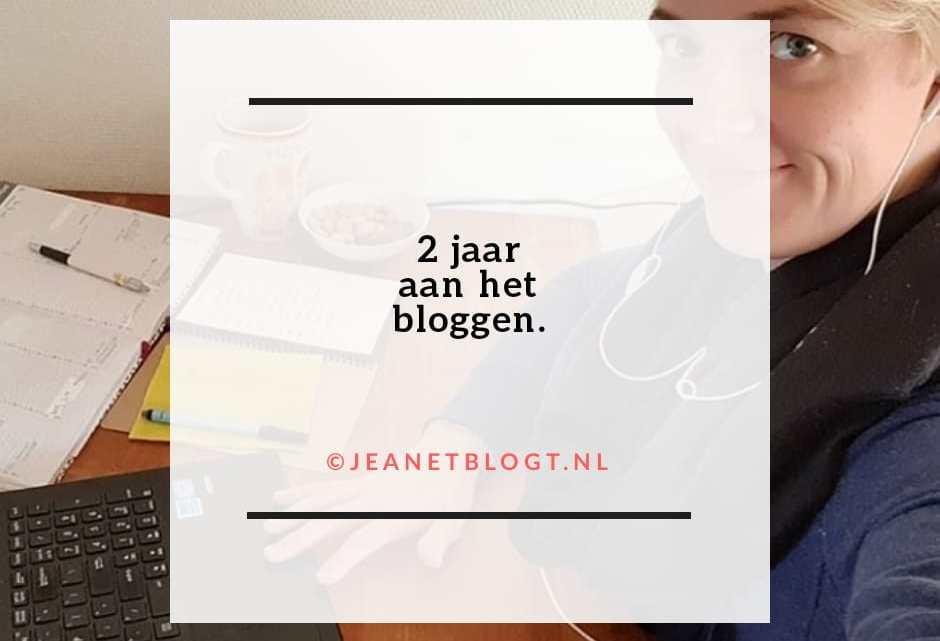 2 jaar aan het bloggen!