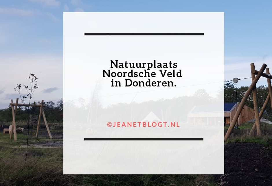 Natuurplaats Noordsche Veld in Donderen.