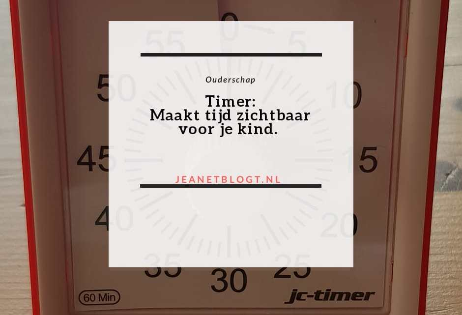 Timer: Maakt tijd zichtbaar voor je kind.