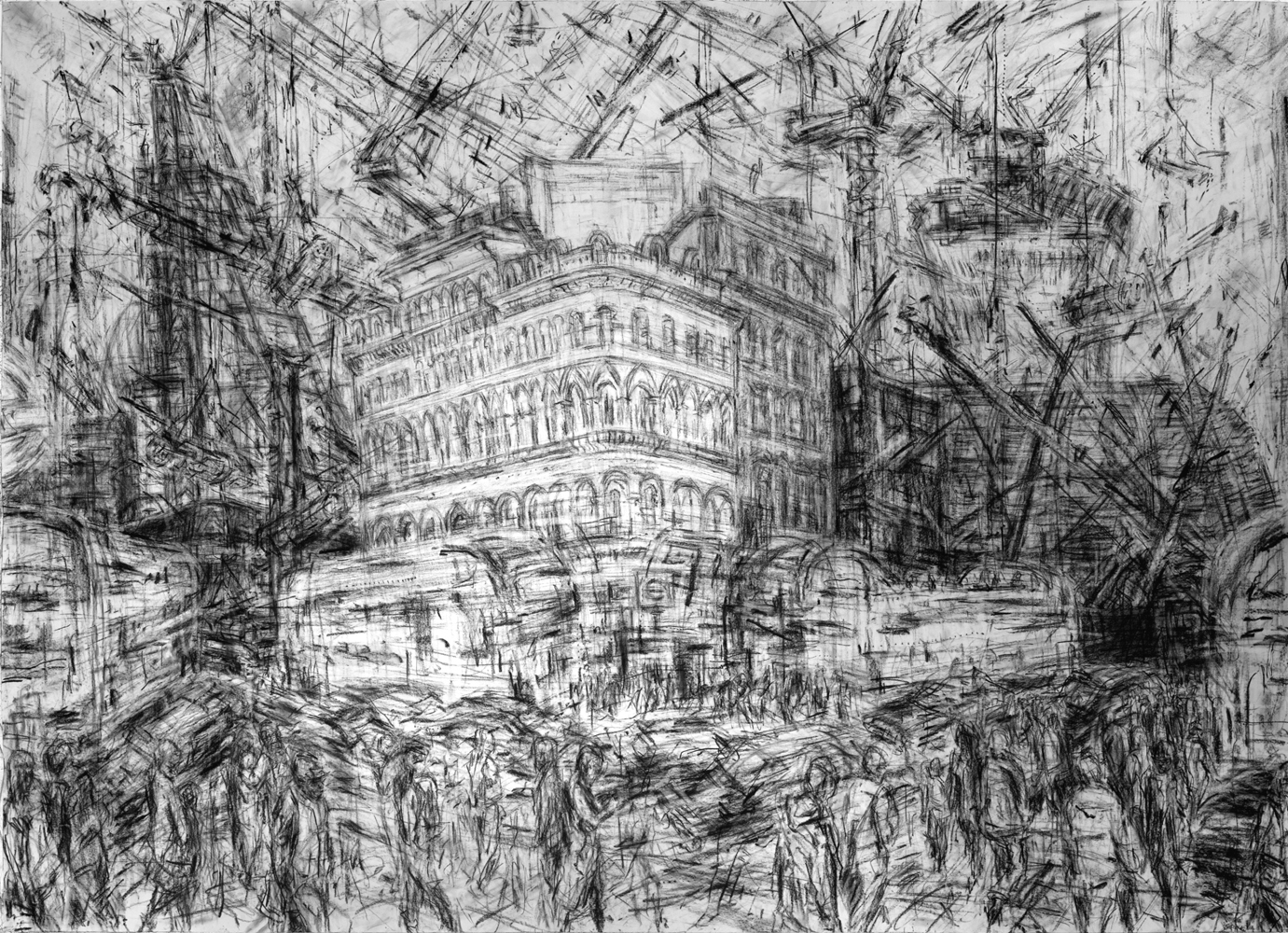 Image result for jeanette barnes urban drawings