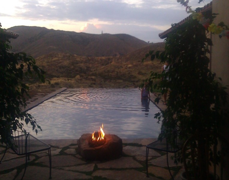 Joy Gardens Friendship Flame at Sunset
